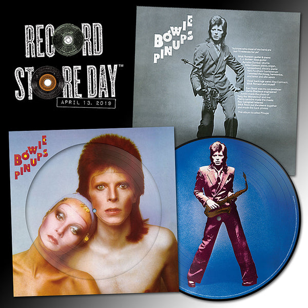 NEW - David Bowie, Pinups Picture Disc LP