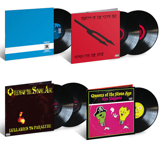 NEW - Queens of the Stone Age, Lullabies to Paralyze 2LP