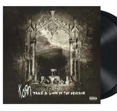 NEW - Korn, Take a Look in the Mirror Silver 2LP