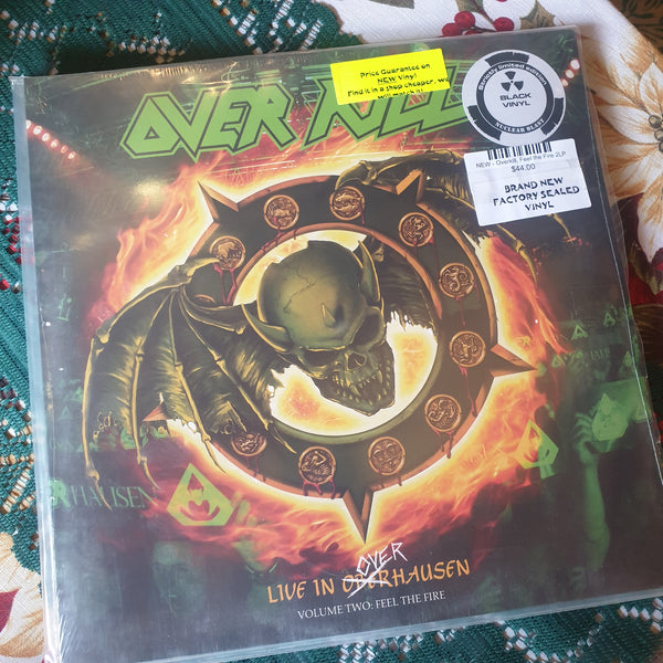 NEW - Overkill, Volume 2 Feel the Fire Live 2LP