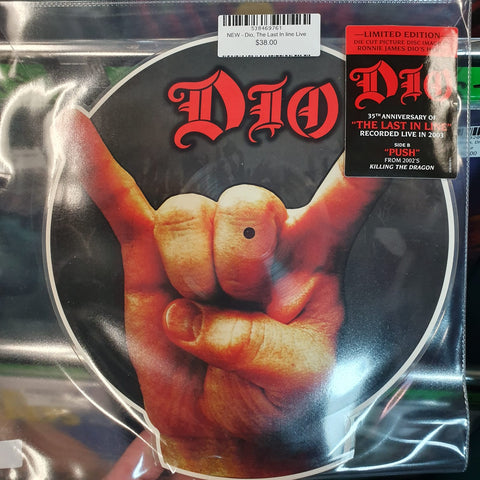 NEW - Dio, The Last In line (Live)