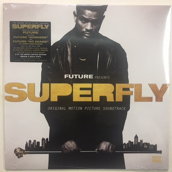 *NEW - Soundtrack,  SuperFly OST Gold / Black 2LP