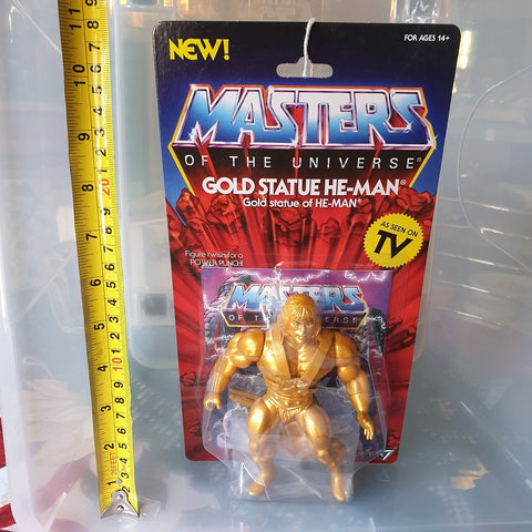 Gold Statue He-Man Action Figure