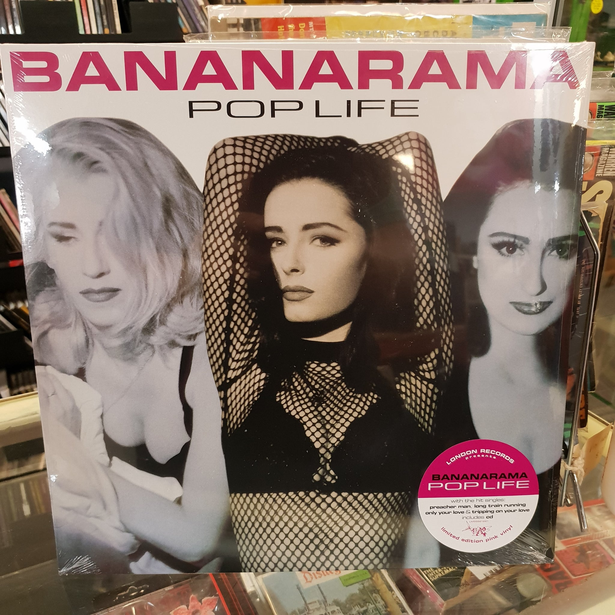 NEW - Bananarama, Pop Life Pink LP