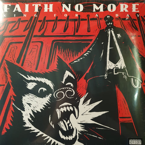 NEW - Faith No More, KING FOR A DAY... FOOL FOR A LIFETIME