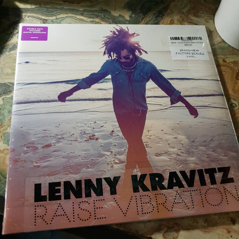 NEW - Lenny Kravitz, Raise Vibration