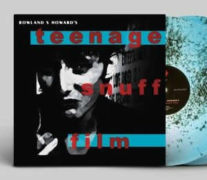 NEW - Rowland S Howard, Teenage Snuff Film Aqua Black 2LP