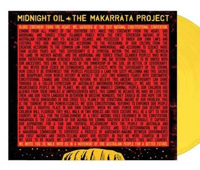 NEW - Midnight Oil, The Makarrata Project (Yellow) LP