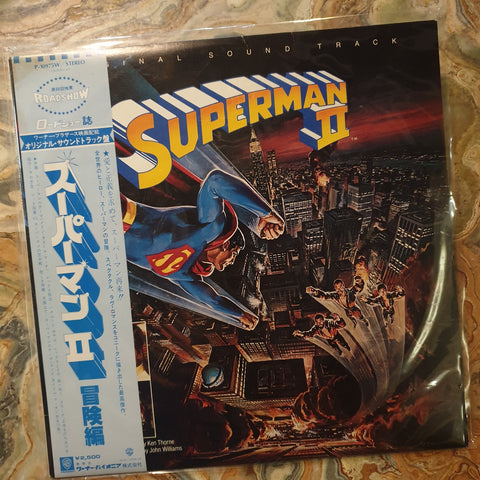 Soundtrack, Superman 2 OST (Japan) LP (2nd Hand)
