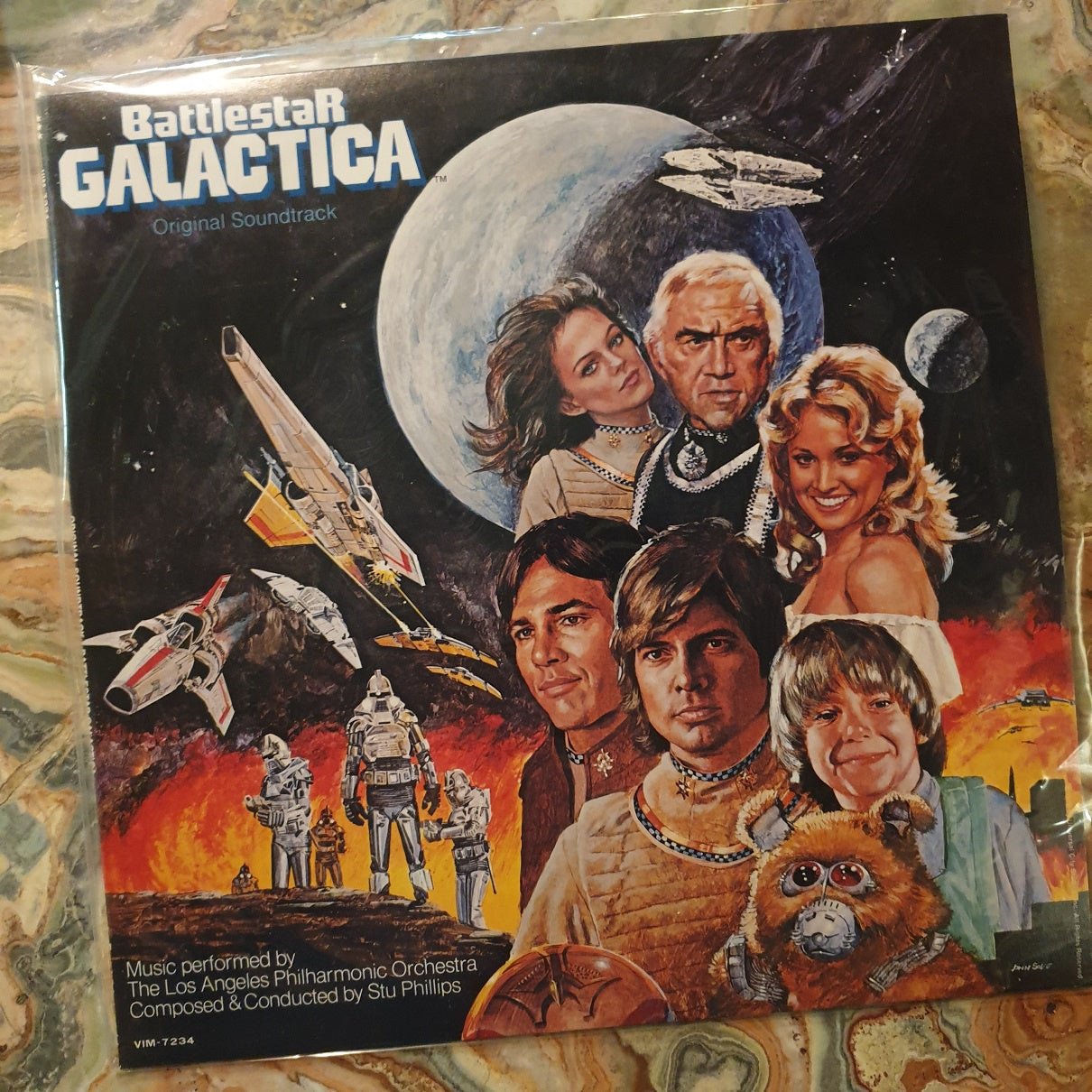 Soundtrack, Battlestar Galactica OST (Japan) LP (2nd Hand)