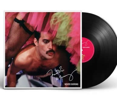 NEW - Freddie Mercury, Never Boring 2019 LP Release (UMA)