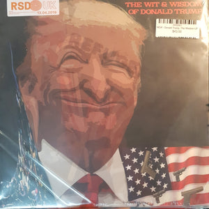 NEW - Donald Trump, The Wit and The Wisdom LP