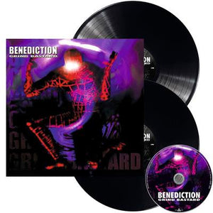 NEW - Benediction, Grind Bastard 2LP+CD