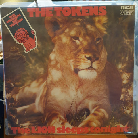 Tokens (The), The Lion Sleeps Tonight LP (2nd Hand)