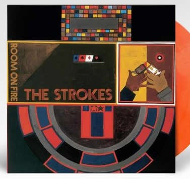 NEW - Strokes (The), Room on Fire Ltd Red/Yellow LP