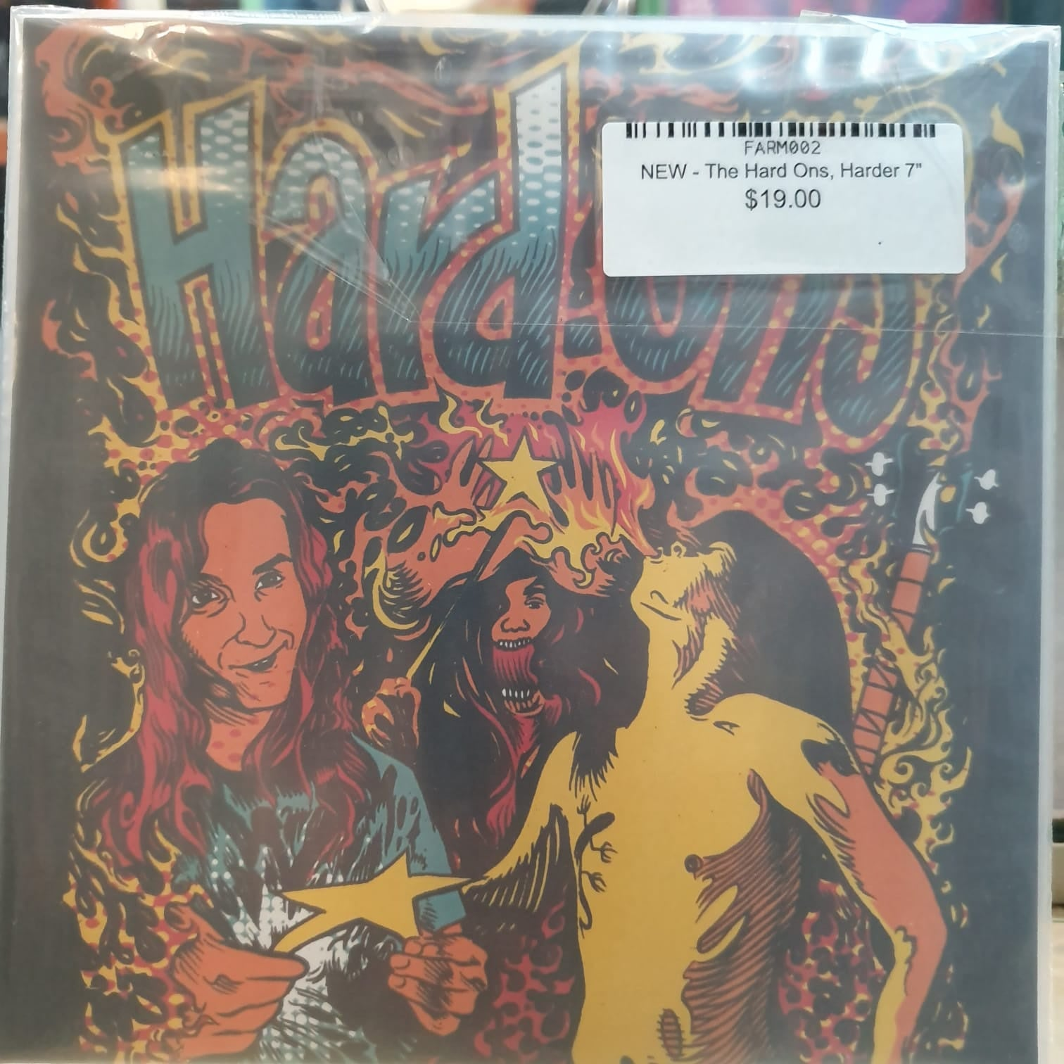 NEW - The Hard Ons, Harder and Harder 7""