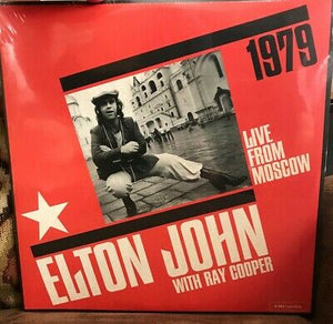 NEW - Elton John, Live From Moscow 2LP RSD