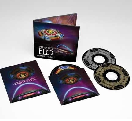 NEW - Jeff Lynn's ELO, Wembley or Bust Blu-ray Pack