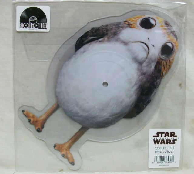 NEW - Soundtrack, Star Wars Porg 10inch Vinyl