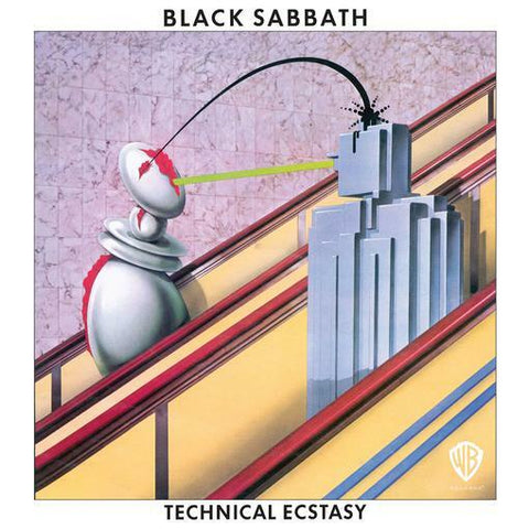 NEW - Black Sabbath, Technical Ecstacy LP +CD