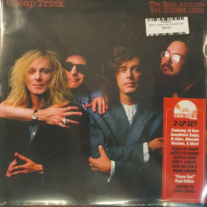NEW - Cheap Trick, The Epic Archive, Vol 3 - 1984-1992  Red Vinyl