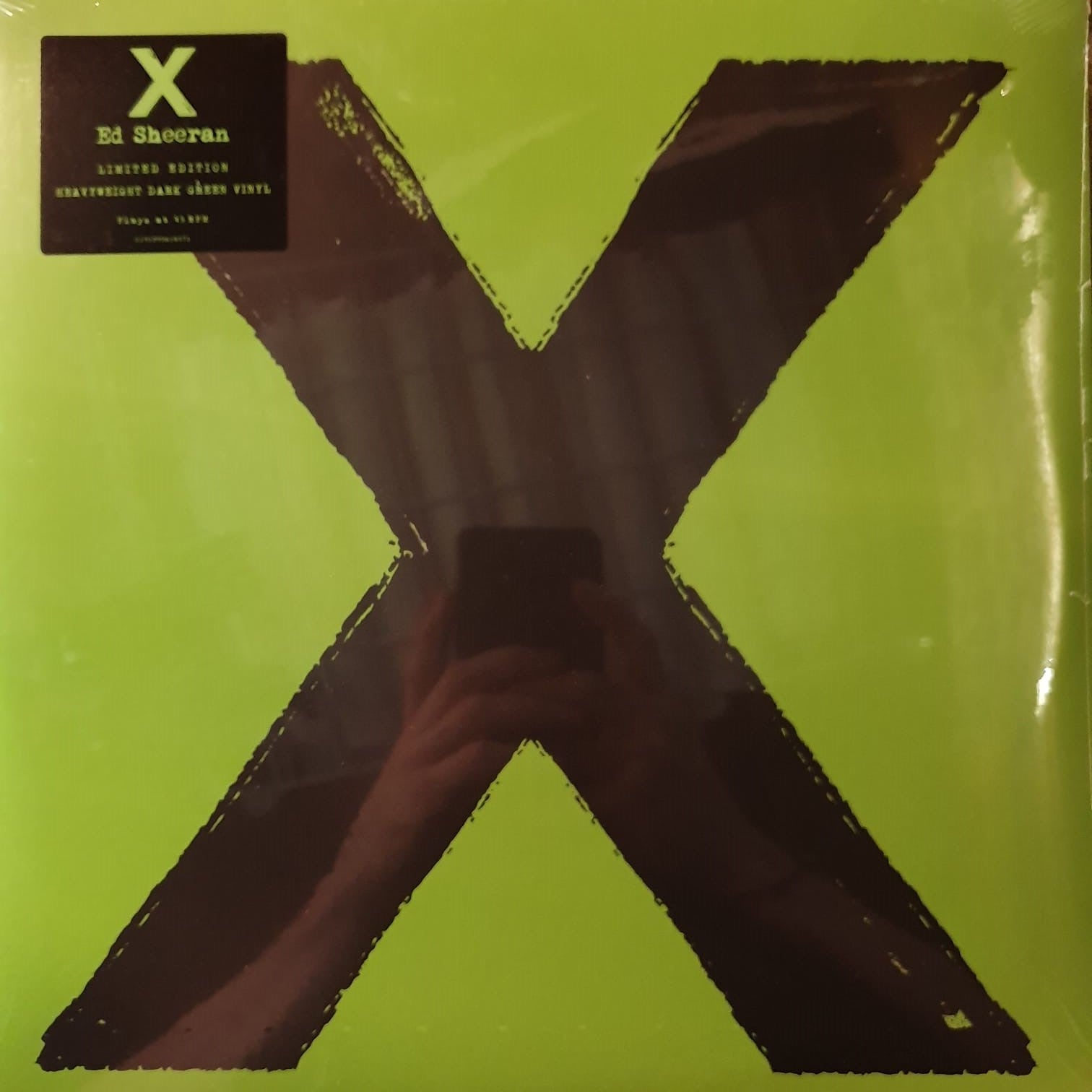 NEW - Ed Sheeran, X (Dark Green Vinyl)