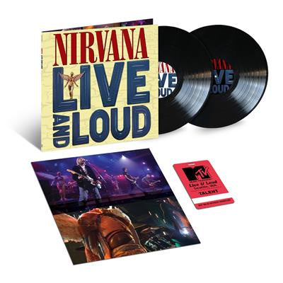 NEW - Nirvana, Live and Loud 2LP