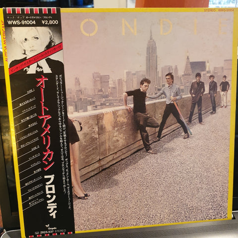 Blondie, AutoAmerican (Japan) LP (2nd Hand)