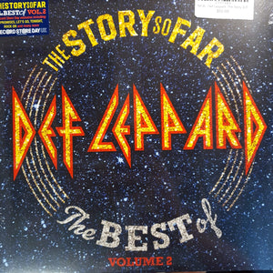 NEW - Def Leppard, The Story So Far, Vol. 2 B Sides 2LP