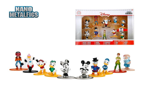 Disney - Nano Metalfigs - 10 Pack (Wave 02)