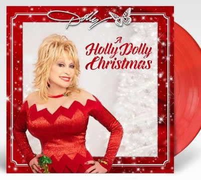 NEW - Dolly Parton, A Holly Dolly Christmas Red LP
