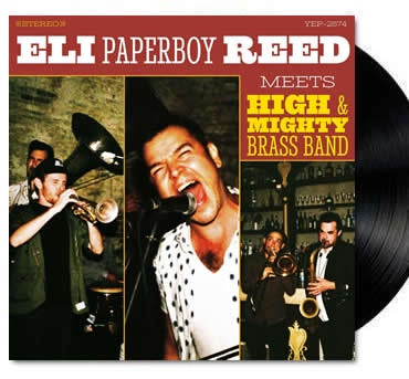 NEW - Eli Paperboy Reed, Meets High and Mighty Band LP