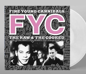 NEW - Fine Young Cannibals, The Raw and the Cooked White LP