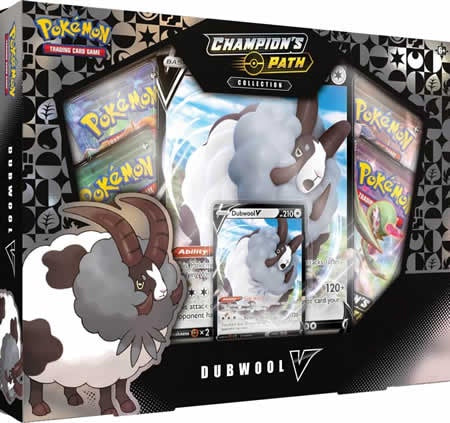 Pokemon TCG: Champions Path Collection: Dubwool V Box