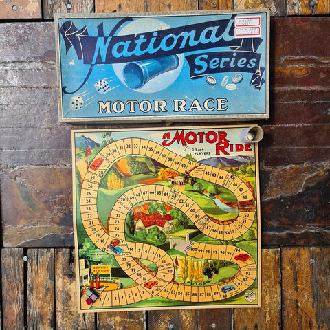 Vintage Car Racing Game
