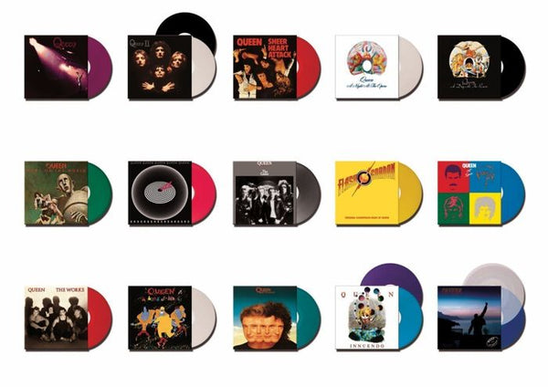 NEW - Queen, Complete Studio Album Box Set - 15 Albums