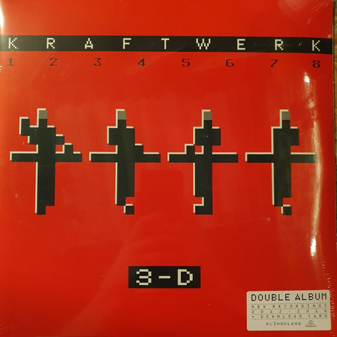 NEW - Kraftwerk, 3-D THE CATALOGUE