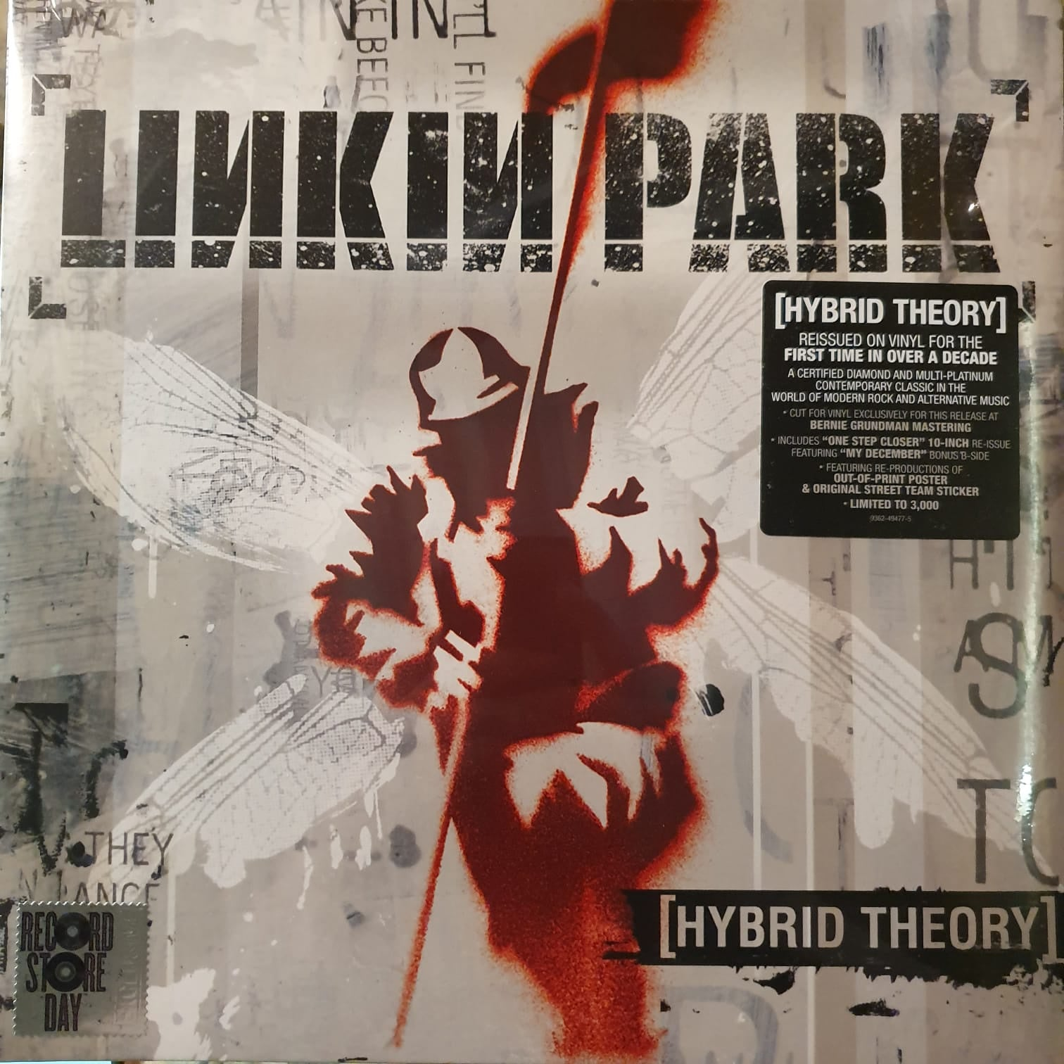 NEW - Linkin Park, Hybrid Theory LP with Bonus 10""