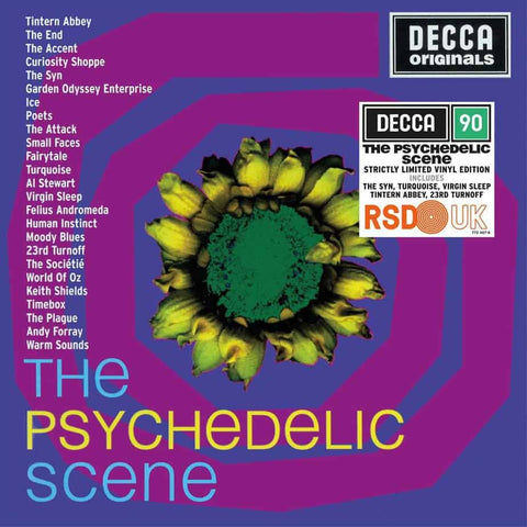 NEW - Psychedelic Scene (The), Various Artists 2LP