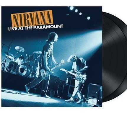NEW - Nirvana, Live at the Paramount 2LP