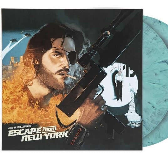 NEW - Soundtrack, Escape from New York 2LP