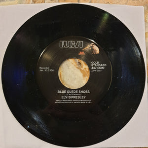 NEW - Elvis Presley, Blue Suede Shoes 7""