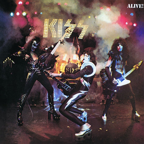 Kiss, Alive 2LP Gatefold (Japan) (2nd Hand)