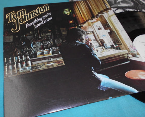 Tom Johnston, Everything You Heard is True LP (2nd Hand)