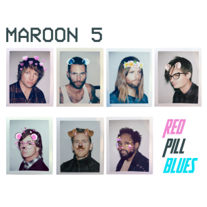 NEW (Euro) - Maroon 5, Red Pill Blues 2LP