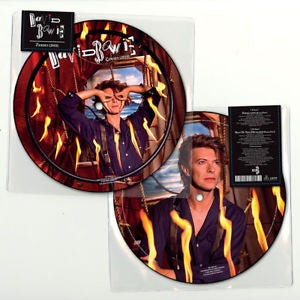 "NEW - David Bowie, Zeroes Limited Edition 7"" Pic Disc"
