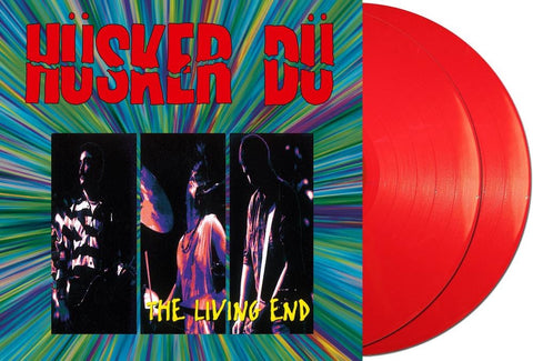 NEW - Husker Du, The Living End Red Coloured 2LP