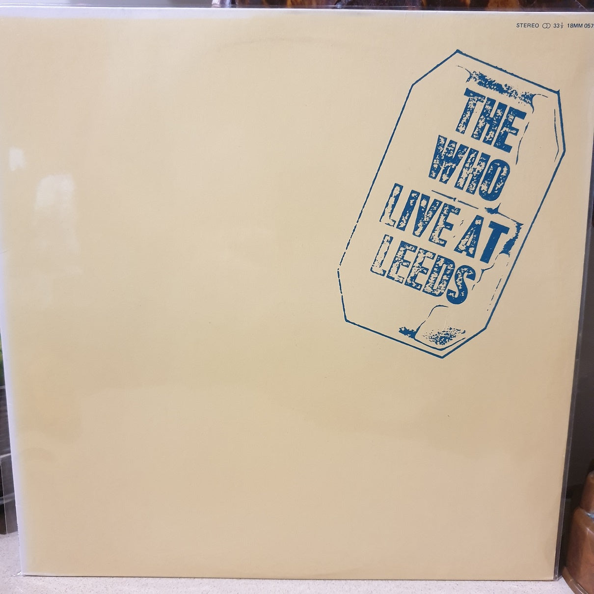 The Who, Live at Leeds (Japan) LP (2nd Hand)
