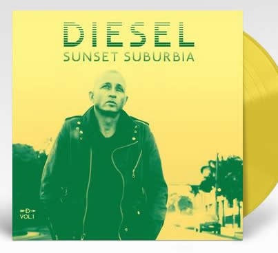 NEW - Diesel, Sunset Suburbia Vol. 1 - Clear Yellow 10""