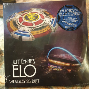 NEW - ELO, Wembley Or Bust 3LP